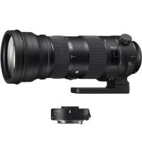 Sigma 150-600mm f/5-6.3 DG OS HSM Sports Lens and TC-1401 1.4x Teleconverter Kit for Nikon F