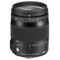 "Sigma 18-200mm f3.5-6.3 DC Macro OS ""C"" Lens Canon Fit"