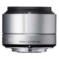 Sigma 19mm f2.8 DN Lens - Sony E Fit - Silver