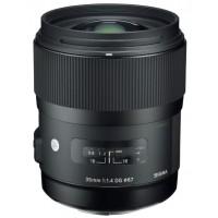 Sigma 35mm f1.4 EX DG Lens Canon Fit