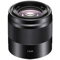Sony E50mm F1.8 OSS Lens Black