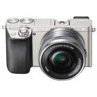 Sony Alpha A6000 CSC incl 16-50mmPZ OIS Lens Silver