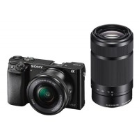 Sony Alpha A6000 CSC Twinlens Kit Black
