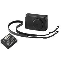 Panasonic TZ80KIT-LE-K Black Leather Case and Battery Kit