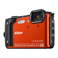 Nikon COOLPIX W300 Underwater Digital Camera Orange