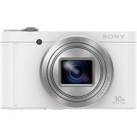 Sony CYBERSHOT WX-500 Compact Digital Camera - White