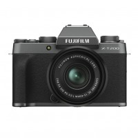 Fujifilm X-T200 Digital Camera with XC 15-45mm Lens - Dark Silver