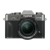 Fujifilm X-T30 Digital Camera with XF 18-55mm Lens - Charcoal