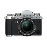 Fujifilm X-T3 Mirrorless Digital Camera with 18-55mm Lens - Silver
