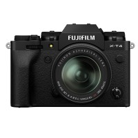 Fujifilm X-T4 Digital Camera with XF 18-55mm Lens - Black