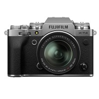 Fujifilm X-T4 Digital Camera with XF 18-55mm Lens - Silver