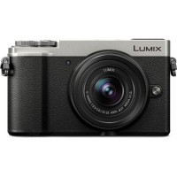 Panasonic Lumix GX9 Mirrorless Camera with 12-32mm Lens - Silver