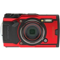 Olympus Stylus Tough TG-6 Underwater Camera - Red