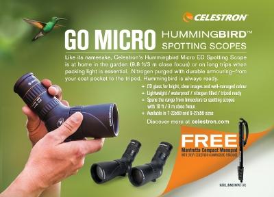 Cameraland / Celestron Hummingbird 7-22x50 ED Micro Spotting